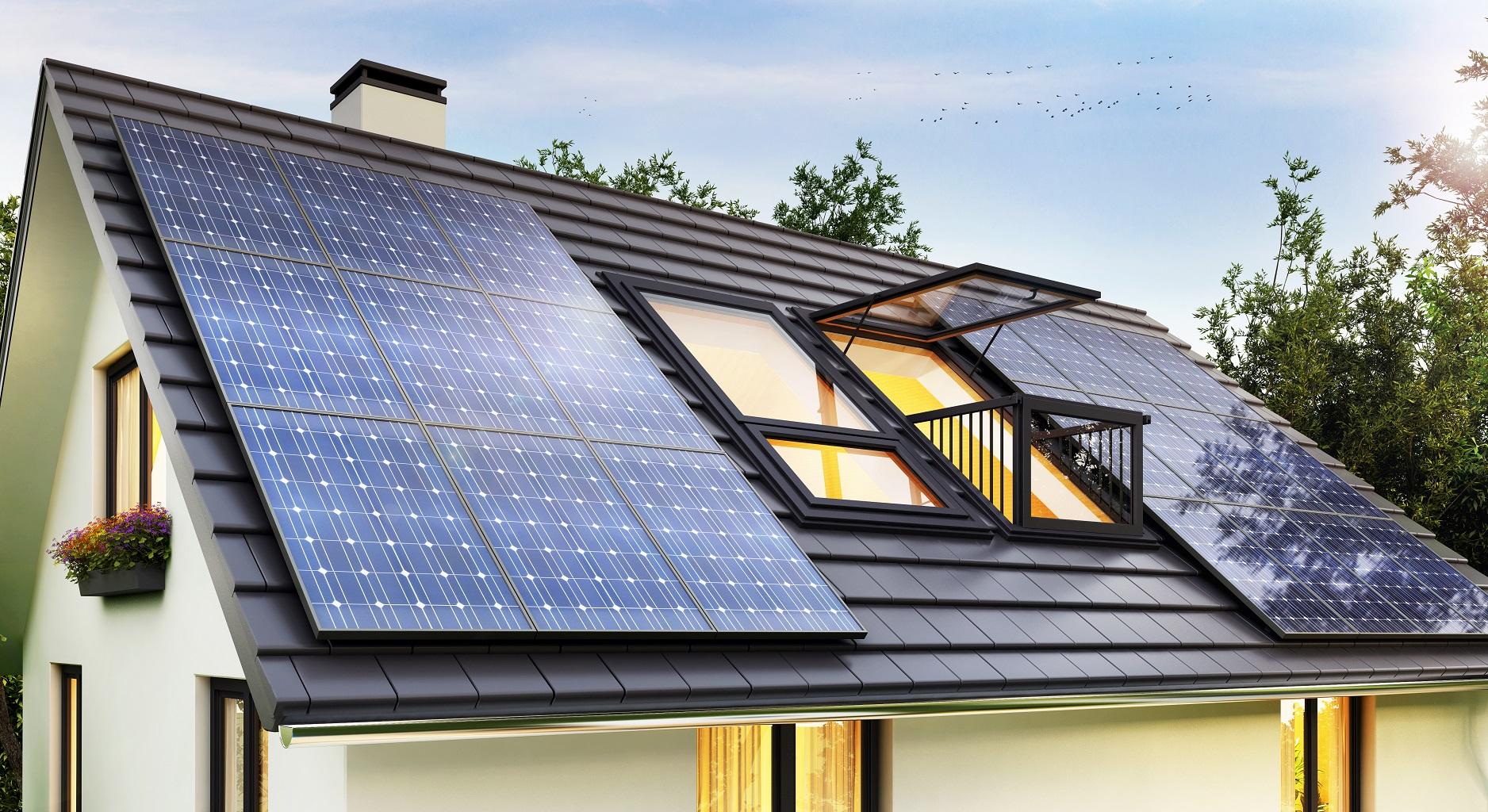 Paneles solares para casas Grupo MAE